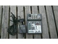 Audio mixer Xenyx502 Behringer