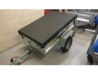 Franc box trailers, 4x3, 5x3 see description