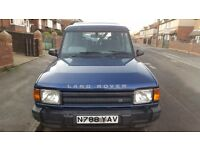 Landrover discovery 300tdi blue 7 seater