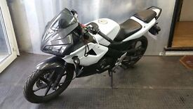 HONDA CBR125 RW 2007 / FUEL INJECTION MODEL / 57 PLATE / 15K MILES / PREVIOUS LADY OWNER / £1500