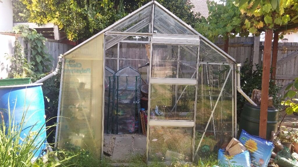 Glass Greenhouse For Sale Used - garden design ideas
