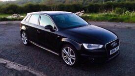 Audi a3 s line 2014 1.6 tdi low miles!!