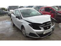 **FOR BREAKING** 2011 Seat ibiza S 1.2 petrol.