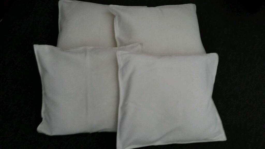 Cushions and removable cream covers