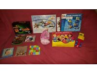 Various Children's Toys and Puzzles