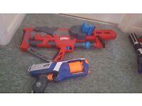 Nerf Strongarm Gun and Boom Gun