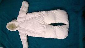 4 Baby one piece coats