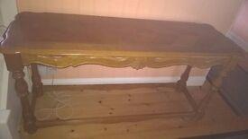 Yew Hall Table