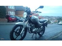 YAMAHA YBR 125cc 2010 - FUEL INJECTION MODEL - VERY TIDY CONDITION