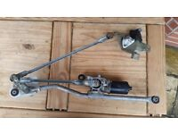 Complete Front wiper motor for Nissan Micra (2004-2006)