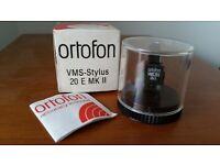 "Original ORTOFON VMS20E Stylus ""NEW-IN-BOX"" Genuine Authentic - NOT replacement!"