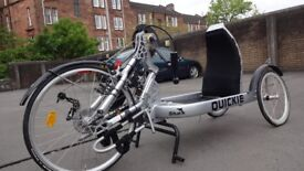 Sunrise Quickie hand cycle tricycle - hardly been used