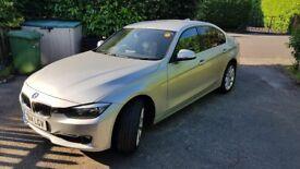 BMW 3 Series 320d Luxury 4-door saloon, immaculate condition