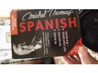 Michel Thomas Spanish foundation course box set