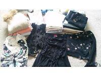 Clothes size 8-10 & handbags