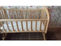 Baby swinging crib from Jonh Lewis