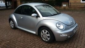 VW Beetle, 1.6, 55 plate, 1 year MOT, New cam belt, Full service, excellent condition