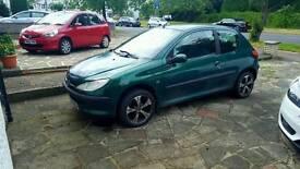 Peugeot 206 LX manual for sale