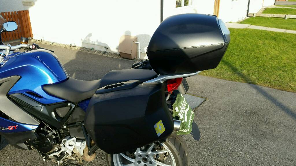 Bmw F800gt Top Box Amp Panniers In Muir Of Ord Highland