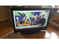Alba 32 inch colour HD TV and Sound Bar