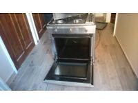 Gas hob/elec oven and hood