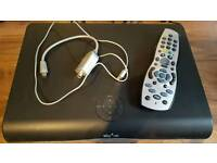 Sky hd box & remote control & magic eye