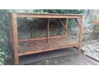 Large workbench / garden table