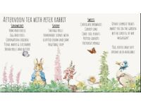 Afternoon Tea with Peter Rabbit
