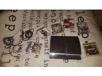 Ps3, 6 games all the wires NO controller