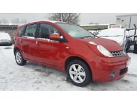NISSAN NOTE 1.6 ACENTA 5 DOOR 2008 / 53K MILES / FSH / 1 OWNER / HPI CLEAR / EXCELLENT CONDITION