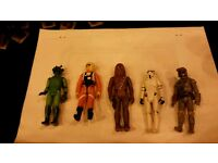 Vintage star wars figures 1970's some rare