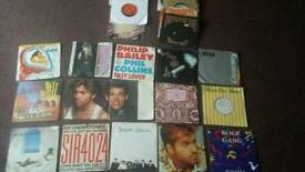 Selection of 45rpm single records