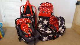 Cosatto Giggle 2 Pram Full Travel System Plus ISOFIX Base