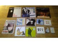 13 x the pretenders vinyl collection LP's / 7 inch / cds / magazine