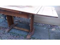 Art deco dining room table
