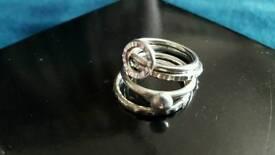 Bespoke Silver Stacker Rings