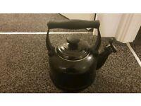 Black le creuset stove top kettle