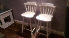 Old Breakfast bar stools