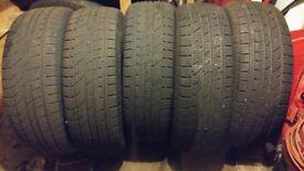 For sale 4X4 tyres to suit Nissan Navara/Pathfinder Etc.