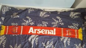 Brand New Arsenal Scarf with 2 sides Red / Blue