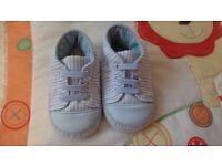 Miniclub baby boy blue shoes