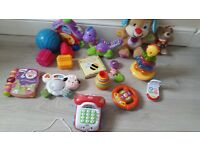 Baby toys, educational, musical, interactive, good selection