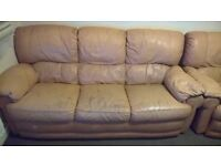 FREE FREE used sofa and 2 chairs (1 reclining) PLEASE SEE PHOTOS