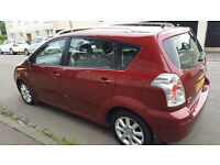 2005 TOYOTA COROLLA VERSO D4D TSPIRIT RED 2.0 DIESEL-not ford or vauxhall zafira or vw or Renault