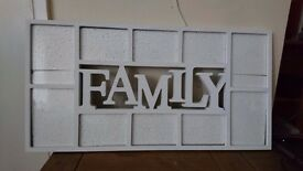 'family' photo frame