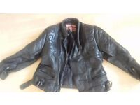 Childs Leather Motorcycle Jacket S30