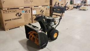 Dozens of Snowblowers at Auction - New and Used - Ends April 24th