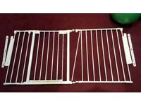 BABY KIDS SAFETY GATE 2 PARTS 146 CM LONG