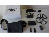 DJI spark Controller, Propellers, Propellers guards, Battery