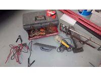 Tool box and hand tools